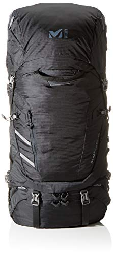 Millet - Hanang 65+10 - Mochila Unisex para Senderismo y Trekking - Volumen Extensible 65+10 L - Negro