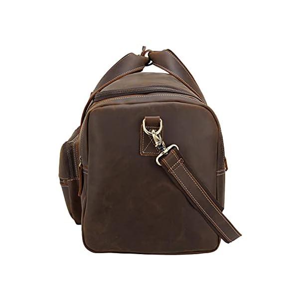 Full Grain Duffel Bag For Men