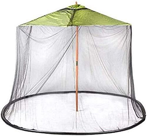 kyman Paraguas de jardín al Aire Libre Su sombrilla en una Cubierta de Mosquito de jardín al Aire Libre Gazebo, Patio de jardín Pantalla de Mesa Pantalla Mosquitera (Tamaño: 300cm * 220cm)
