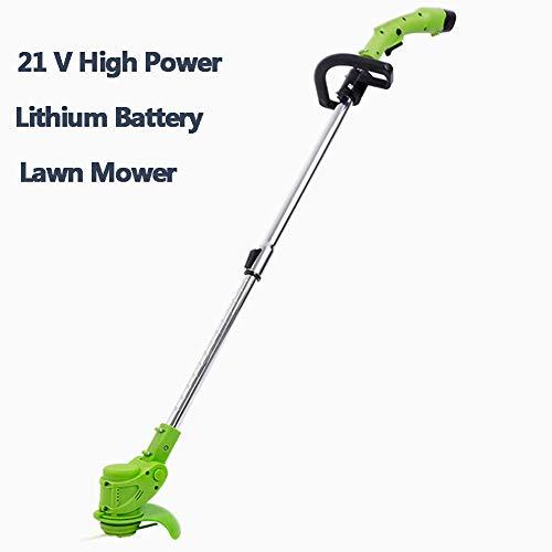 Elektrische grasmaaier, 12V 3000mAh lithium-ion accu-bosmaaier Gras-bosmaaier Tuin Snoeischaar Snijgereedschap,D