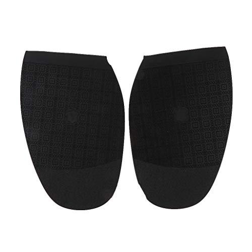 IPOTCH Schuhbedarf Gummisohlen zur Reparatur von Schuhsohlen, Anti Rutsch, Schwarz