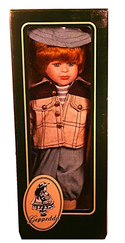 "Geppeddo ""Francis The Fisherman Porcelain Doll"