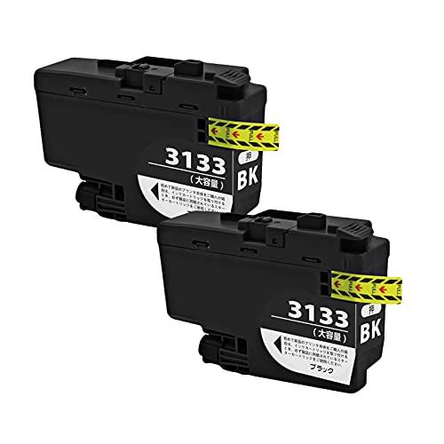 SXCD LC3133 Cartuchos De Tinta para Hermano, Reemplazo Rendimiento para DCP-J988N MFC-J1500N J1605DN Cartucho De Impresora De Inyección De Tinta Compatible BK Y M C (4 Co Black x 2