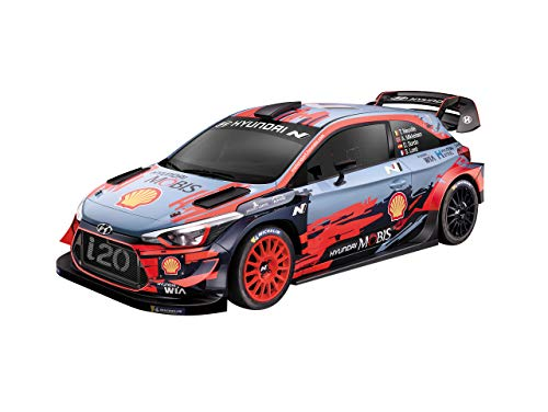 Mondo Motors - Hyundai i20 WRC - modello in scala 1:24 - fino a 20 km/h di velocità - auto giocattolo per bambini - 63668