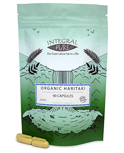 Harititaki Veggie Capsules | 500mg Capsules | Organic Certified (90)