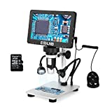 ESSLNB Microscopio digital LCD de 7 pulgadas