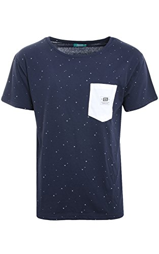 SWEET SKTBS -  T-shirt - Uomo Blu Navy/Offwhite M