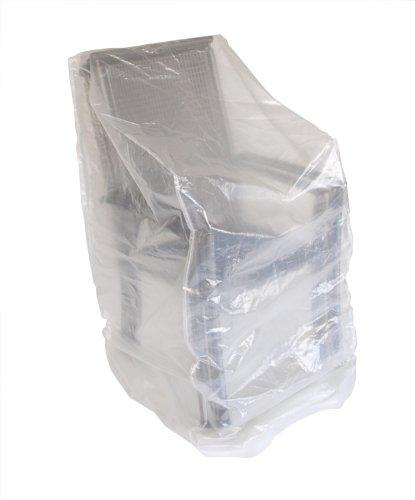 DEGAMO Abdeckhaube für Stapelstühle, 66x66x120/150cm, transparent
