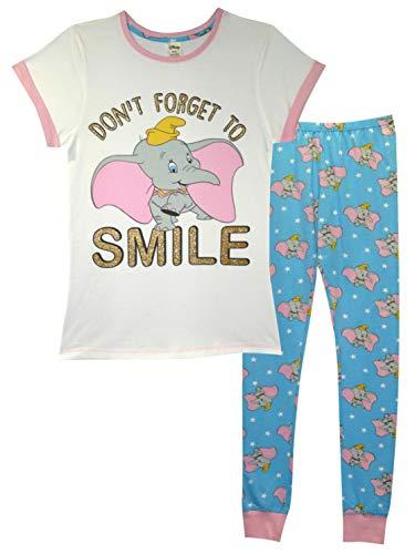 Pijama oficial Dumbo Don't Forget para Sourire' Pijama conjunto / pijama talla 8-22 multicolor 46