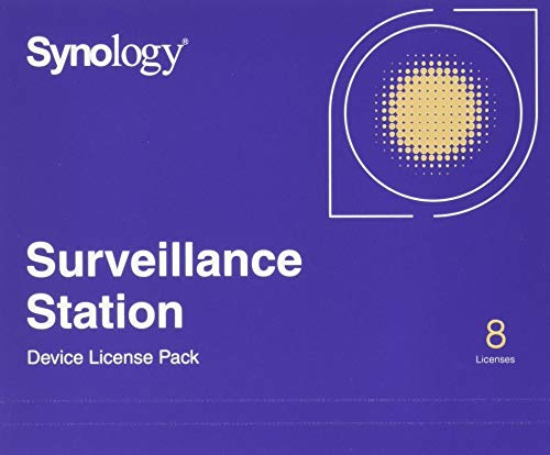 Synology IP Camera License Pack, CLP8, CLP8