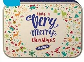 McVities Christmas Assortment of Sweet, Creams, Chocolate and Jam Biscuits Tin 850g