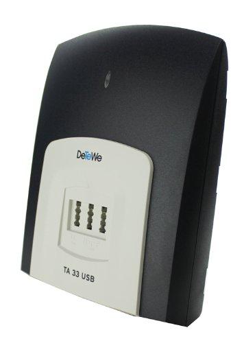 DETEWE ISDN-Terminaladapter TA 33 USB - 4