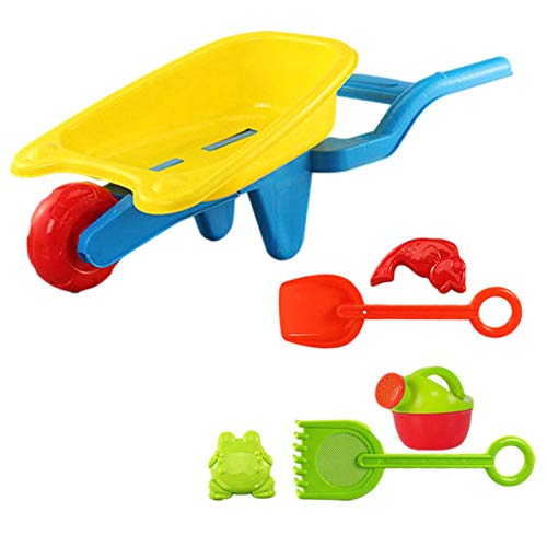 Sandspielzeug For Eco-friendly And Durable Plastic,sandspielzeug Set Bright Colors Outdoor Beach Toy...