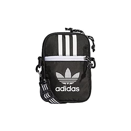 adidas H35579 AC FESTIVAL BAG Gym Bag unisex-adult black/white NS