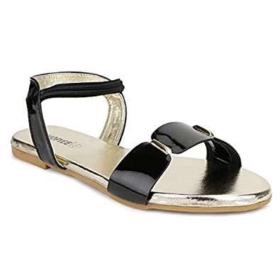 SHOFIEE WOMEN Stylish Ankle Strap Flat Sandal