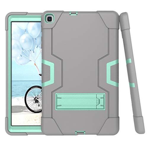 Kybers - Soporte para tablet Samsung Galaxy Tab S5e T720/725 2019 - Protección de tres capas resistente y antiarañazos, con soporte plegable trasero oculto para Samsung Galaxy Tab S5e T720/725