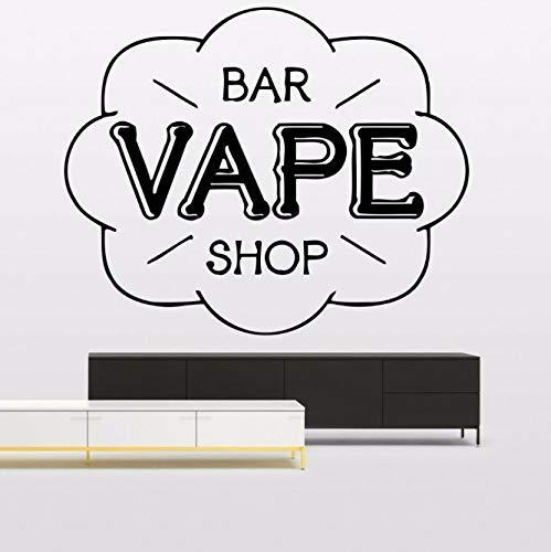 Bar Shop Sign Muurstickers Moderne Muur Raamdecoratie Vinyl Decals Muurschildering Verwijderbare Home Decor Slaapkamer Sticker 52X42 Cm