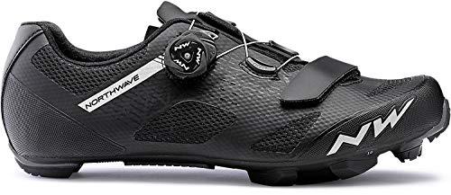 Northwave Razer MTB Fahrrad Schuhe schwarz/weiß 2020: Größe: 46