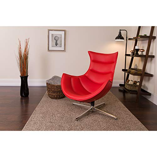 Flash Furniture Chaises Longues, Red