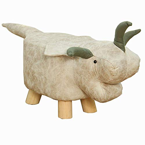JIEER-C slaapzak, voetensteun, cartoon, stof, voor dieren, robuust, massief hout (kleur: cyaan) Warm wit