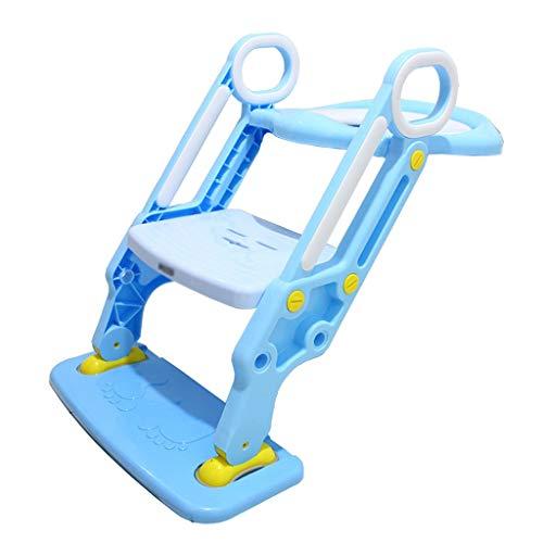 Potty Training Toilet Seat Formazione bambini sedia con le maniglie Seggiolino 2-7 bambino di anni igienici bambino WC WC Bambino igienici Scala Ragazze Scala pieghevole antiscivolo bambini Toilet Sea