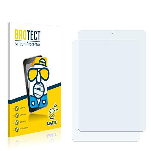 BROTECT 2X Entspiegelungs-Schutzfolie kompatibel mit Pearl Touchlet X8.Quad Bildschirmschutz-Folie Matt, Anti-Reflex, Anti-Fingerprint