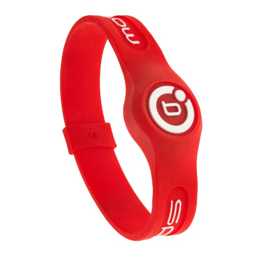 Bioflow Sport Magnetarmband Armband rot/weiß rot rot XL 22.0cm