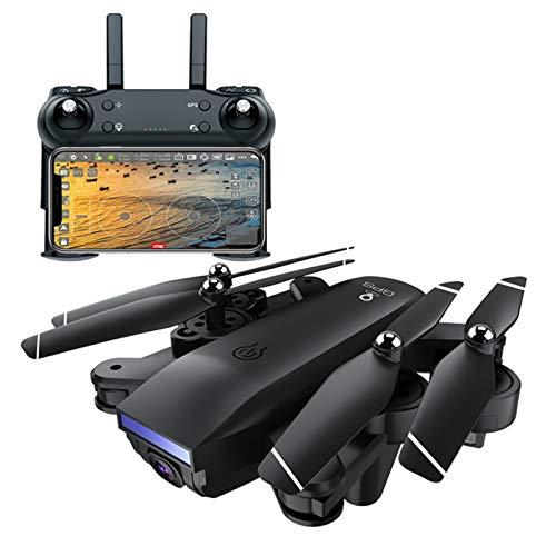 SPLLEADER GPS Drohne mit 1080P/4K Kamera HD Live Übertragung für Kinder,RC Quadcopter ferngesteuert mit Follow Me Lange Flugzeit Auto Rückkehr,APP Handy gesteuerte FPV Drohnen,1080P