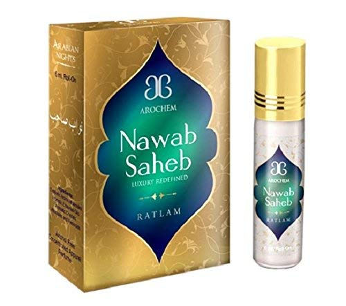 Arochem Nawab Saheb Concentrated Attar-Free From Alcohol
