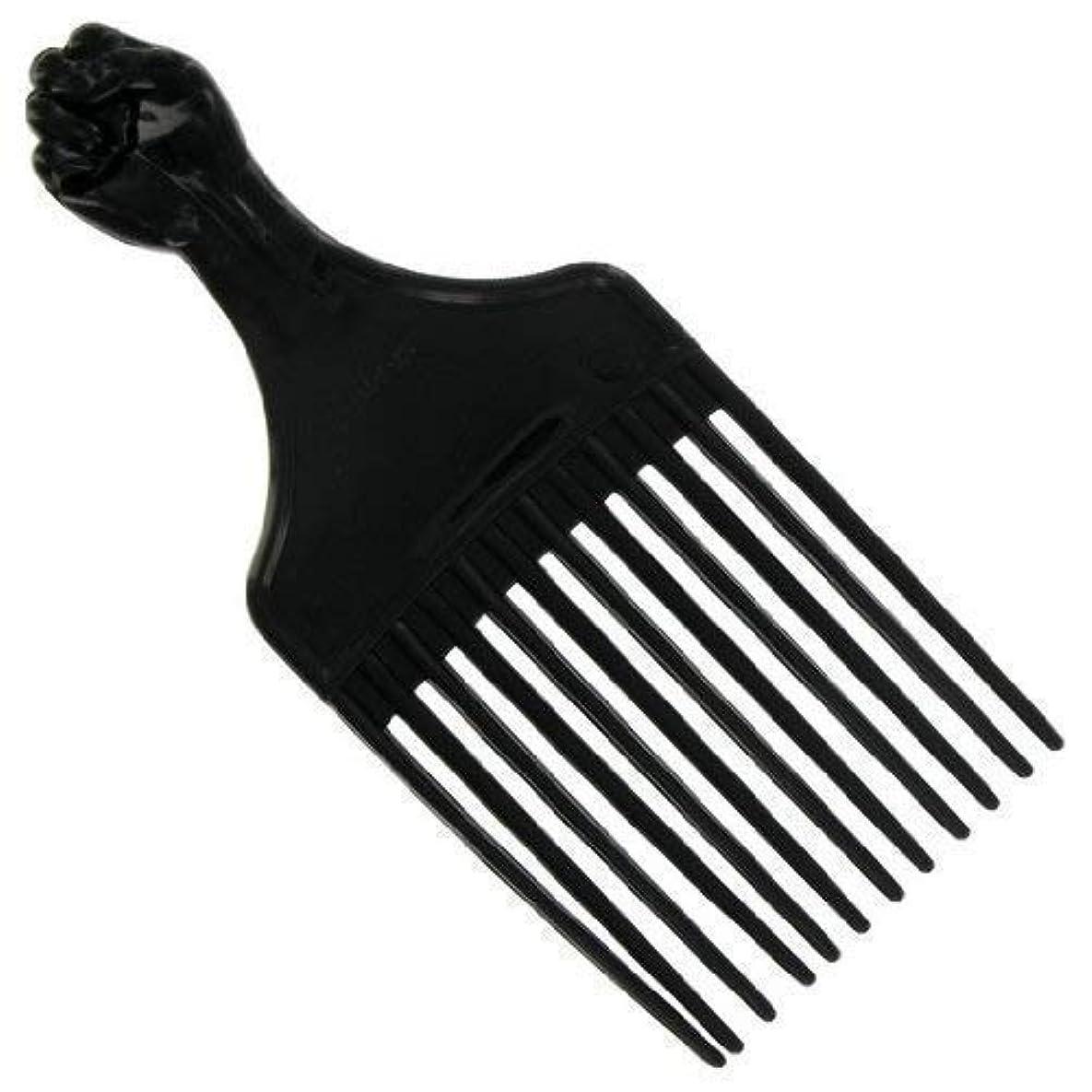空気悪意影響Afro Hair Pick (F-7027) [並行輸入品]