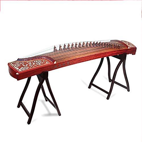 N /A Guzheng, Chinesisch Musikinstrument, Größe: 163 cm, Geeignet for Anfänger, Profis, Einleitende Praxis, mit einem kompletten Satz von Zubehör