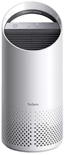 TruSens Z-1000 Air Purifier | 360 HEPA Filtration with Dupont Filter | UV Light Sterilization Kills Bacteria Germs Odor Allergens in Home | Dual Airflow for Full Coverage (Small)