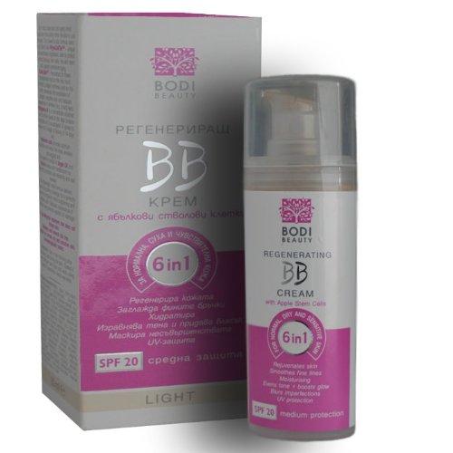 Neu! Apfelstammzellen Regenerierende BB Creme für normale, trockene und empfindliche Haut (leicht)