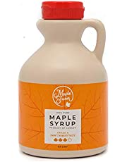 Jarabe de arce Grado A (Dark, Robust taste) - 0,5 litro (0,66 Kg) - Miel de arce - Sirope de Arce - Original maple syrup…