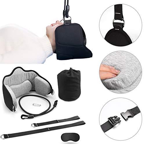 Hamaca para la cabeza del cuello, Dispositivo de tracción cervical para el alivio del dolor de cuello Relajación y fisioterapia, Hamaca duradera segura de alta calidad para hombres y mujeres