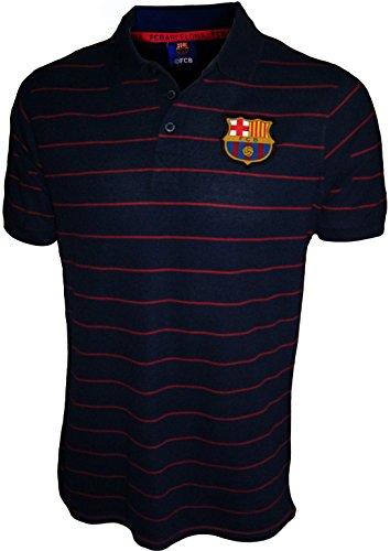 FC Barcelona - Polo oficial para hombre, talla de adulto, Hombre, azul marino, XXL