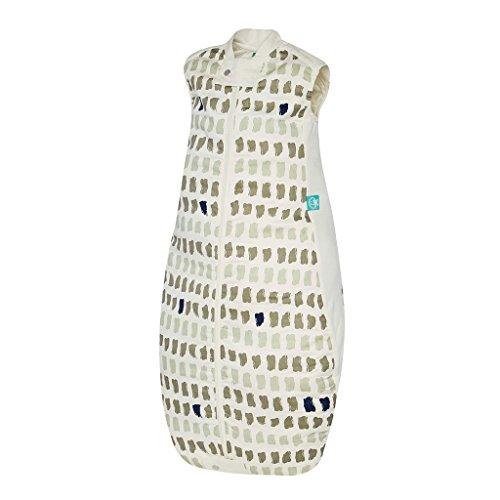 ergoPouch Schlafsack Baby Jersey, 100% Bio Baumwolle - TOG 1.0, Grau, 2-12 Monate (80cm)