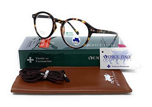 Blaulichtfilter lesebrille anti blaulicht. Computerbrille Lennon Professional Executive Für herren damen gamer brille venice (Demi, +2.00)