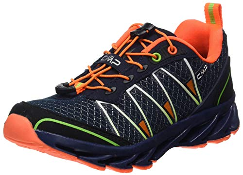 CMP – F.lli Campagnolo Unisex Kids Altak Trail Shoe 2.0 Traillaufschuhe, Mehrfarbig (Navy-Mint-ORANGE Fluo 97BD), 36 EU