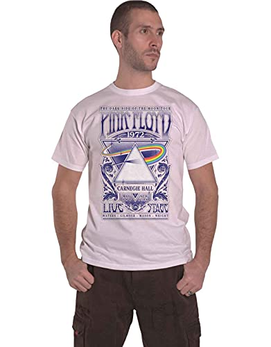 Official Pink Floyd Carnegie Hall Poster T-Shirt