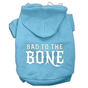 Mirage Pet Products 10″ Bad to The Bone Dog Pet Hoodie
