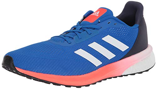 adidas Men's Astrarun Running Shoe, Glory Blue/White/Solar Red, 8 M US