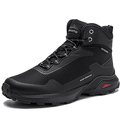 Dannto Botas de Senderismo para Hombre, Zapatillas Altas de Trekking Zapatos de...