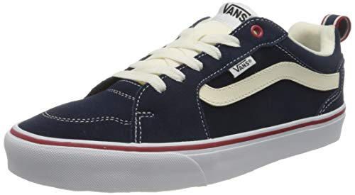 Vans Filmore Suede_Canvas', Zapatillas Hombre, Retro Sport Dress Blues Chili Pepper, 43 EU