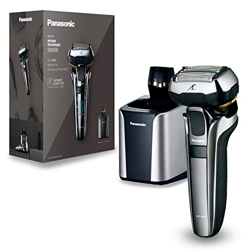 Panasonic ES-LV9Q Wet and Dry Shaver with Charging Stand