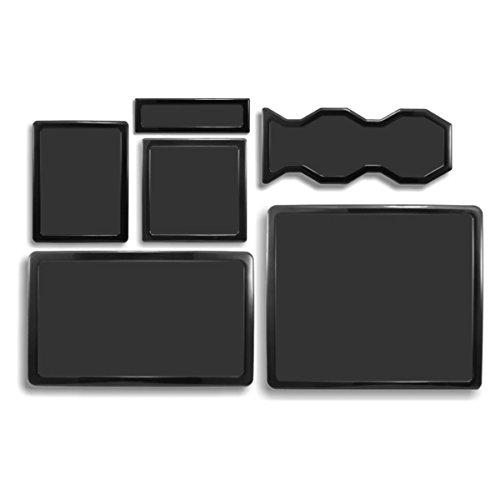 DEMCiflex Staubfilter Set für Cooler Master HAF 932 schwarz/schwarz