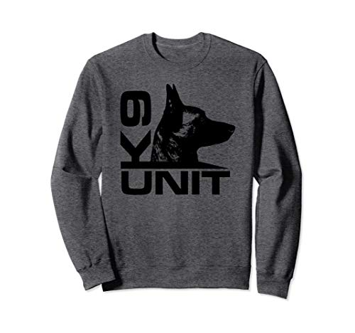 K-9 Unit - Police Dog Unit - Malinois Sweatshirt