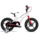 Product Image of the RoyalBaby Boys Girls Kids Bike 14 Inch Space Shuttle Magnesium Bicycles with...