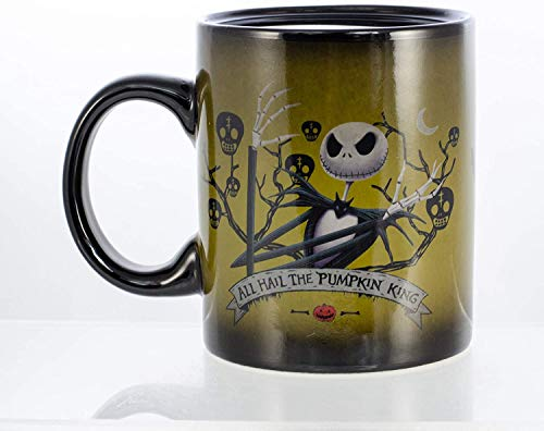 Seven20 The Nightmare Before Christmas Appearing Heads Heat Reveal Ceramic Mug 11oz