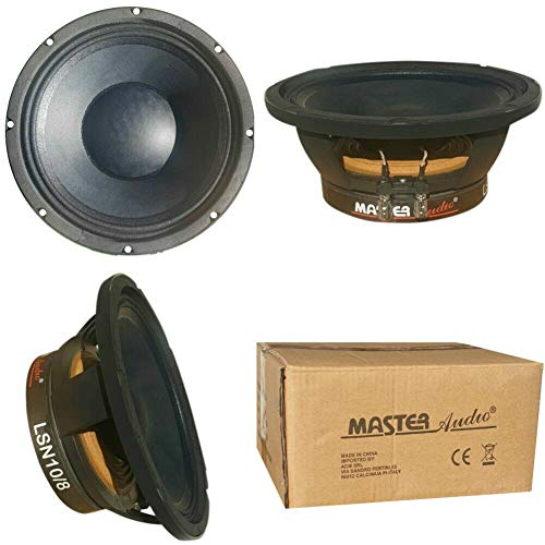 Master Audio LSN10/4 LSN 10/4 Altavoz woofer 25.00 cm 250 mm 10